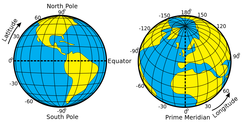 1000px Latitude And Longitude Of The Earthsvg