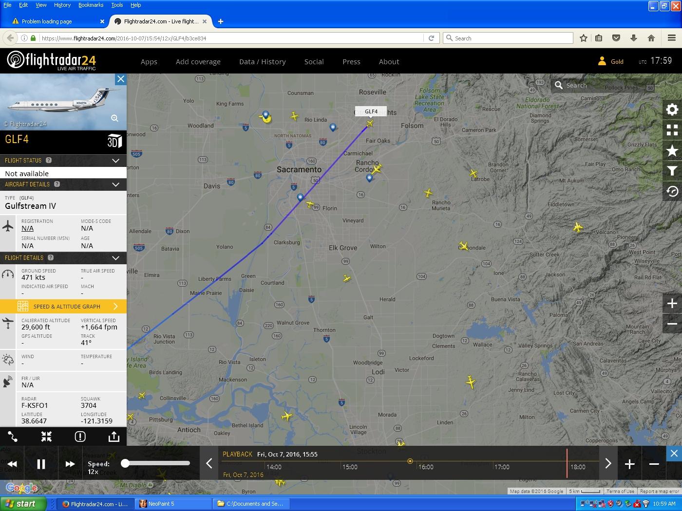 16-10-07 trail-2 0855 GLF4 not match NNW flight seen over home.jpg