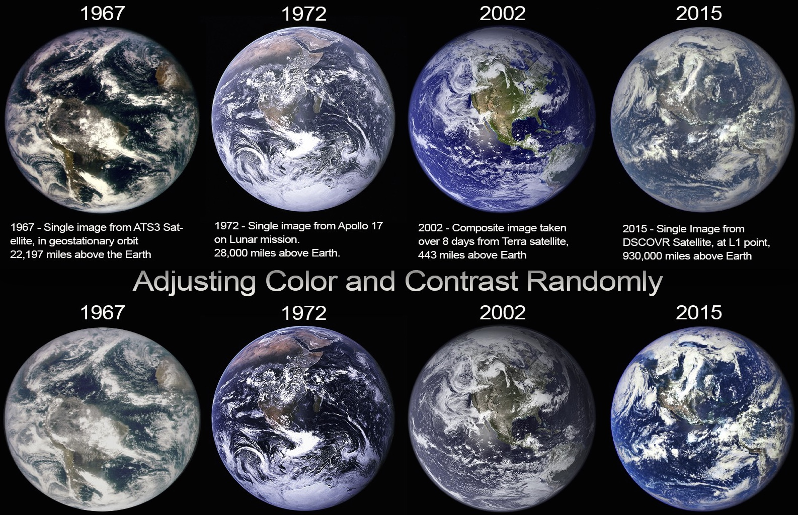 Debunked Blue Marble Photos Show A Changing Earth