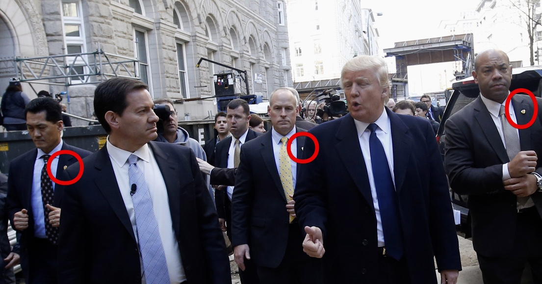 Explained Trump S Secret Service Agent S Fake Hands Hands Ready Position Metabunk