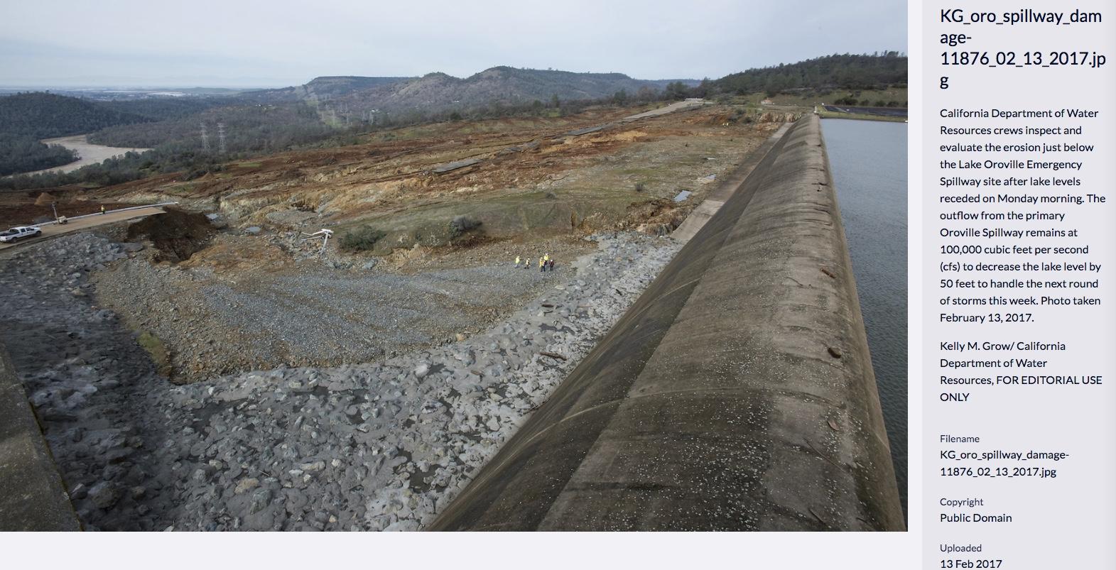 oroville dam spillway failure page 10 metabunk