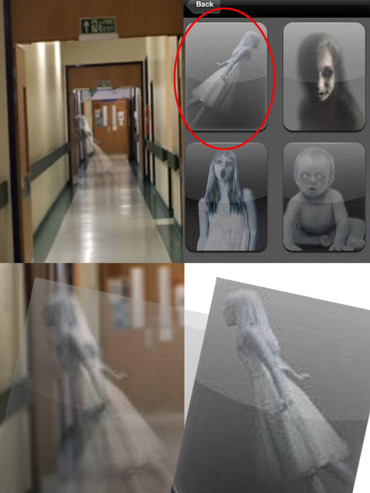 Andrew Milburn Fake Hostpital Ghost Photo 2015.