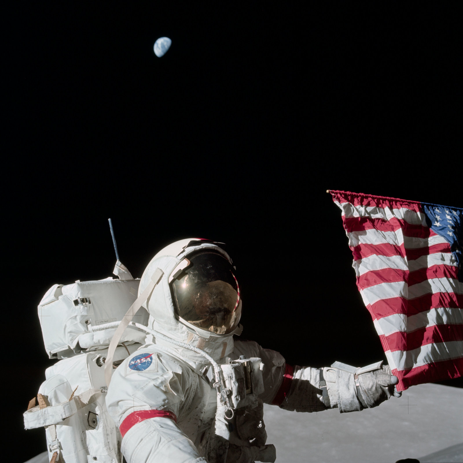 explained apollo 17 photo of earth from moon seems too high metabunk