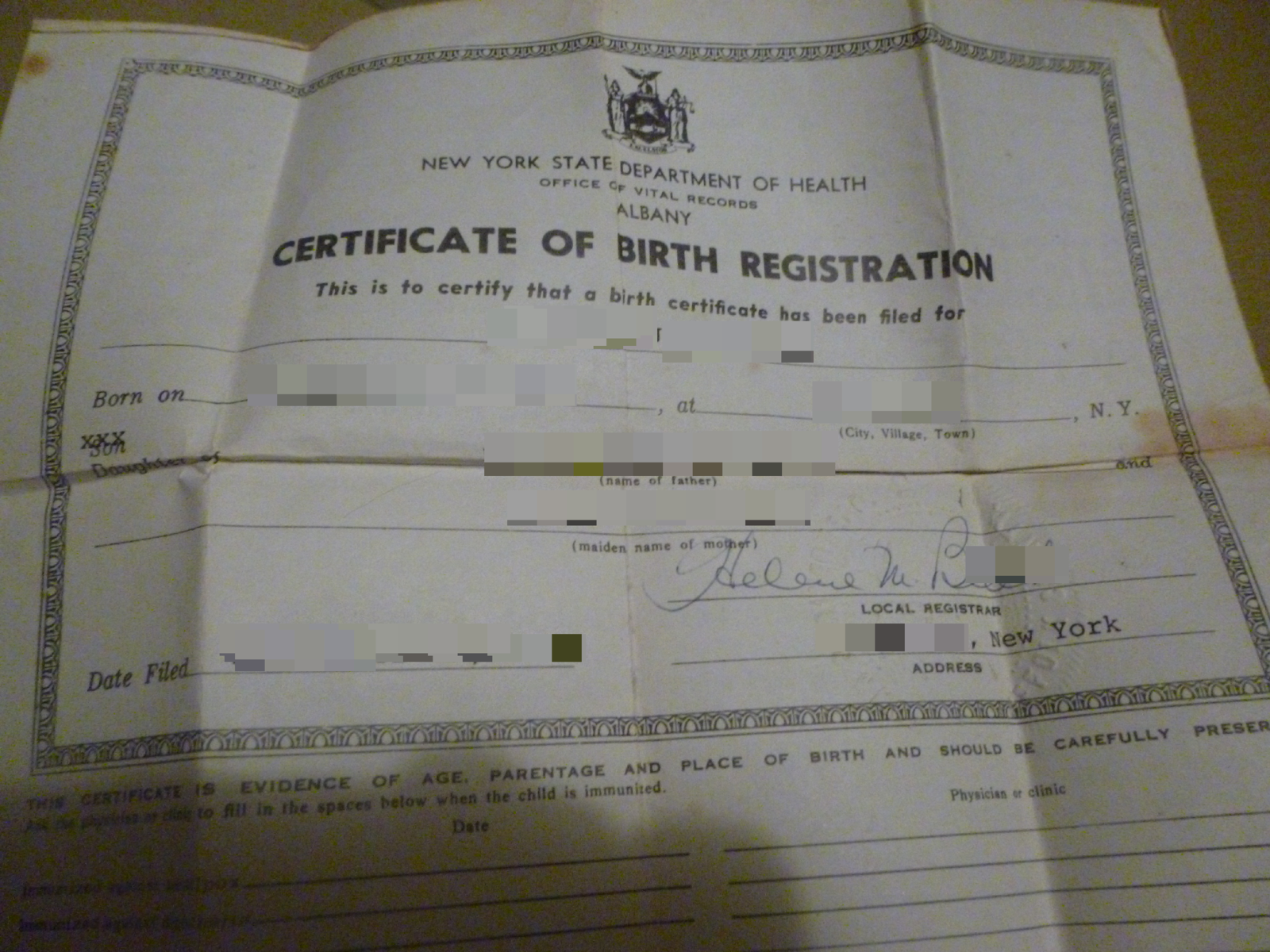 Claim your birth certificate is worth millions metabunk my certificate doesnt appear to be on security paper and doesnt say anything about security paper on it maybe that is just for aiddatafo Image collections