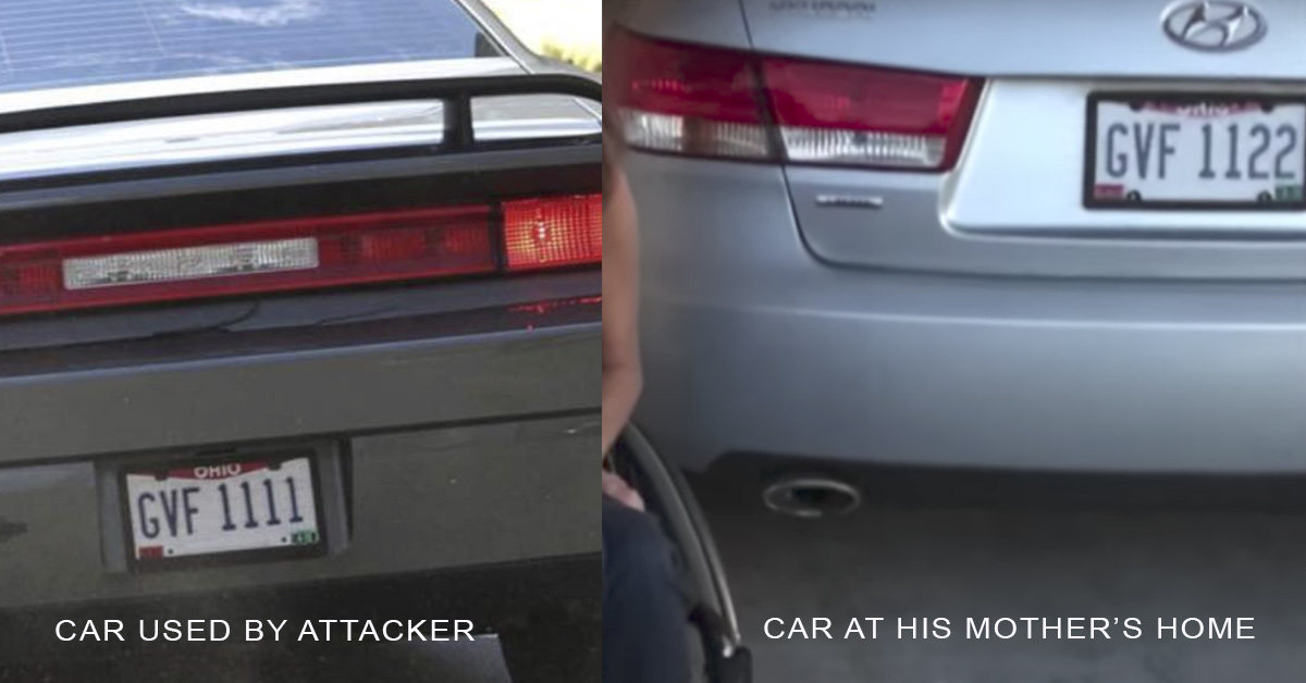 Explained: Charlottesville Car Attack License Plates - Ohio GVF 1111 ...