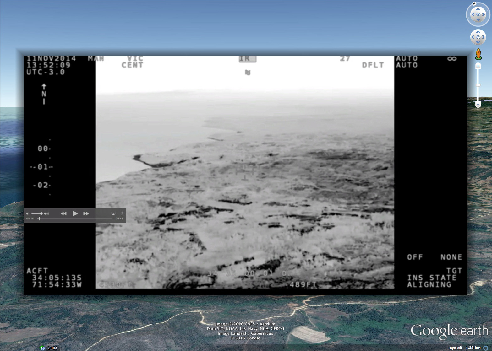 Chile UFO Compare A.