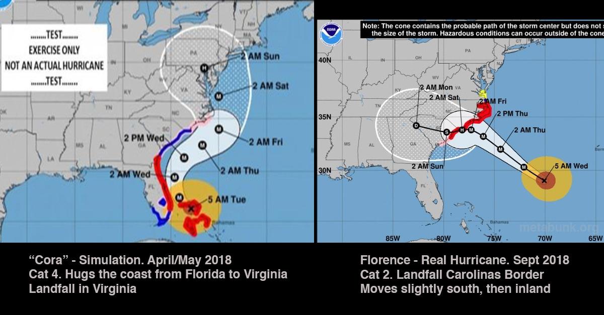 Cora vs. Florence.