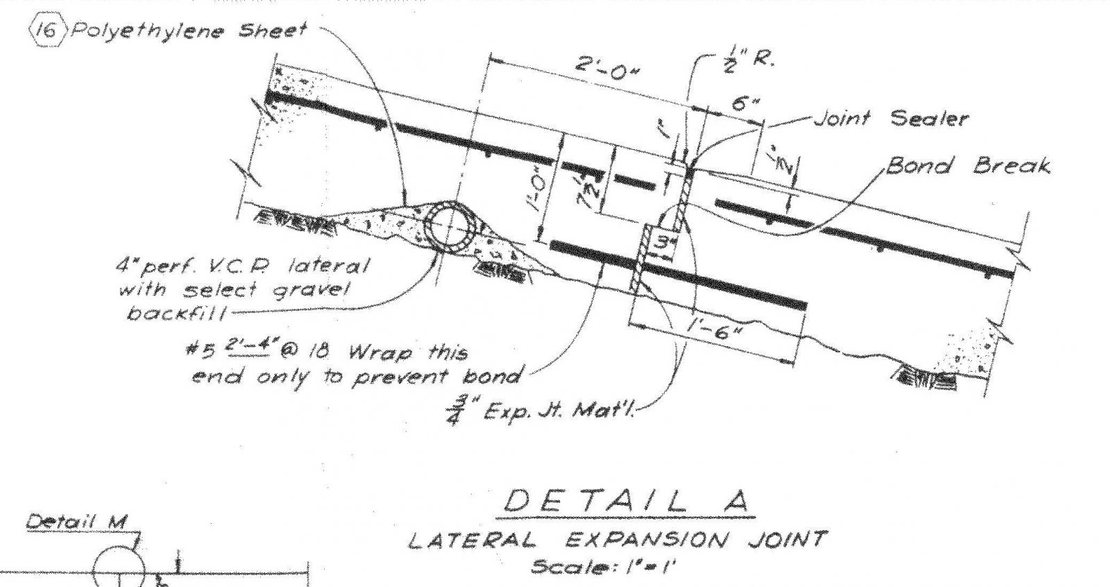 Detail A - lat exp jt.