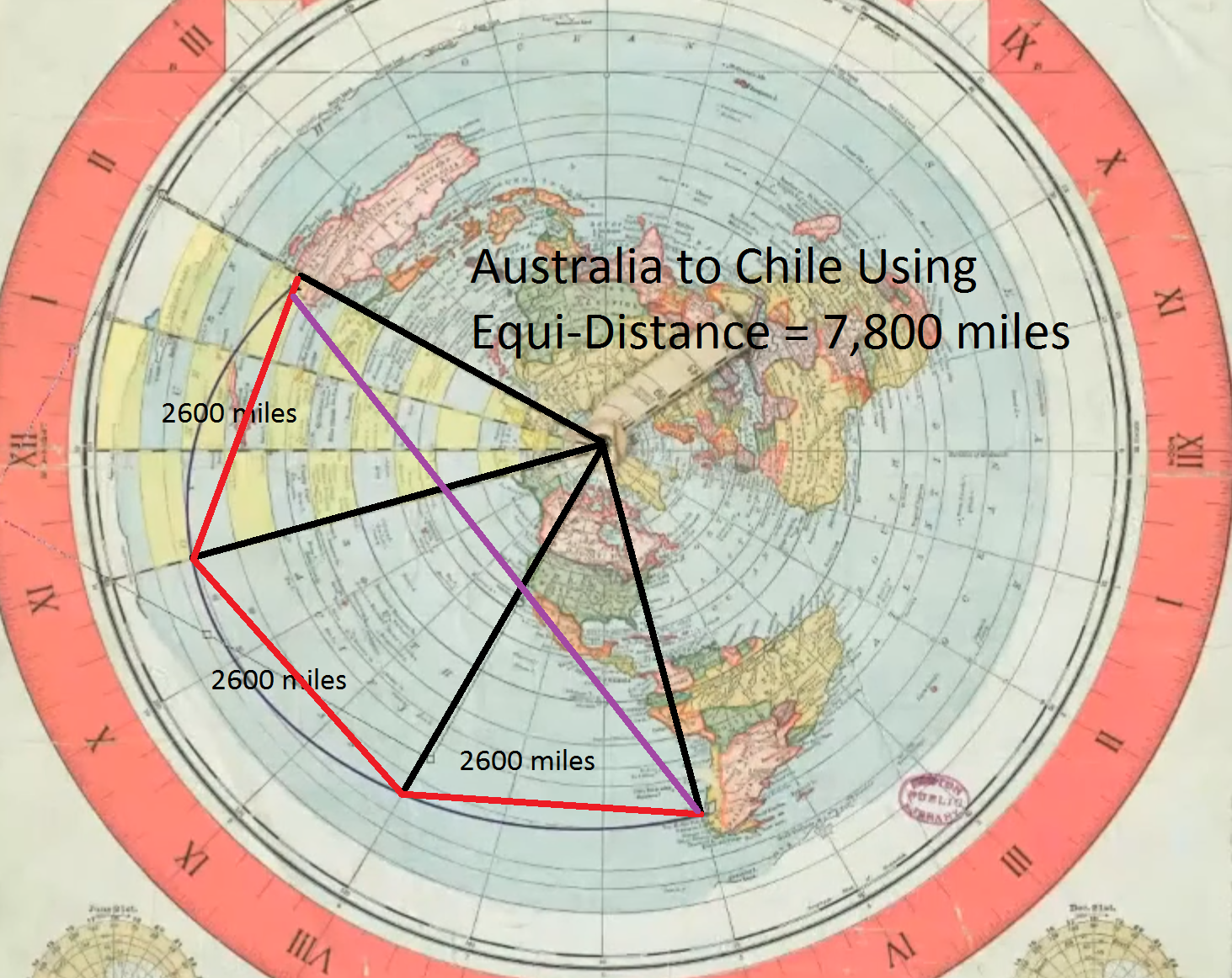 Flat Earth Theory Debunked By Short Flights  Qf27  U0026 Qf28  From Australia To South America