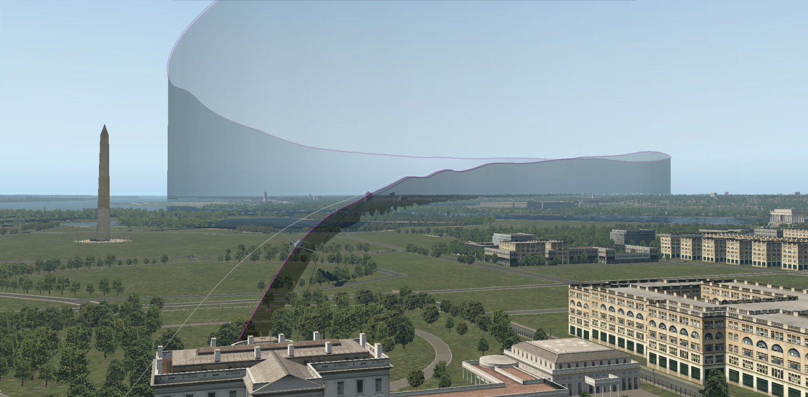 flight path white house 93.PNG