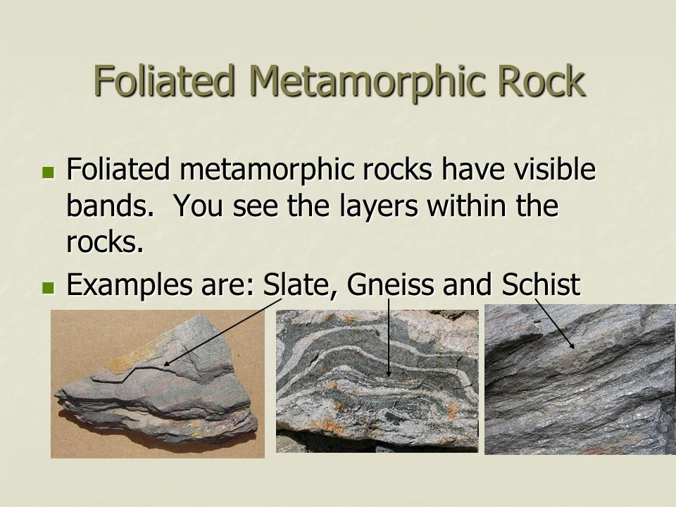 Foliated+Metamorphic+Rock.