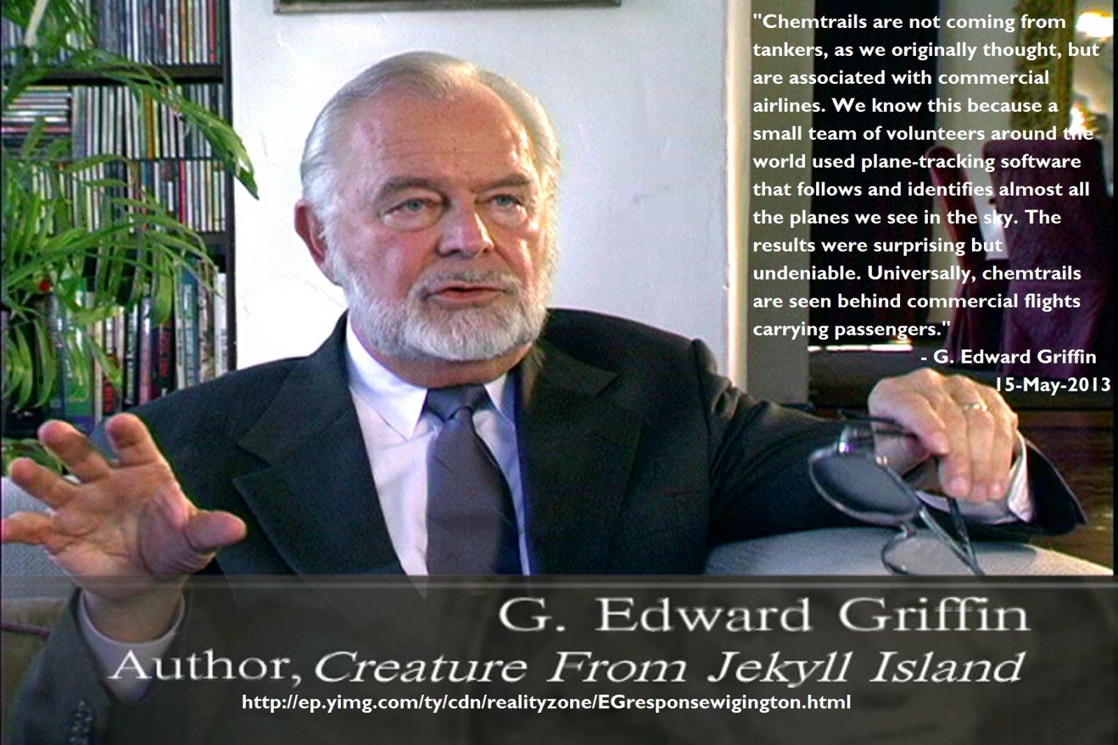 G Edward Griffin.