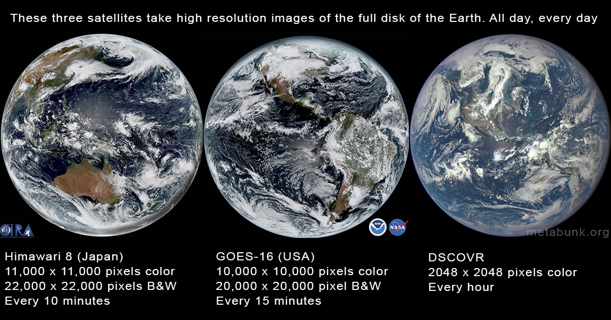 Full Disk Hd Images Of The Earth From Satellites Metabunk