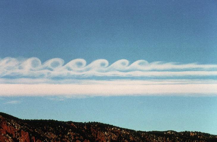 kelvin helmholtz cloud.