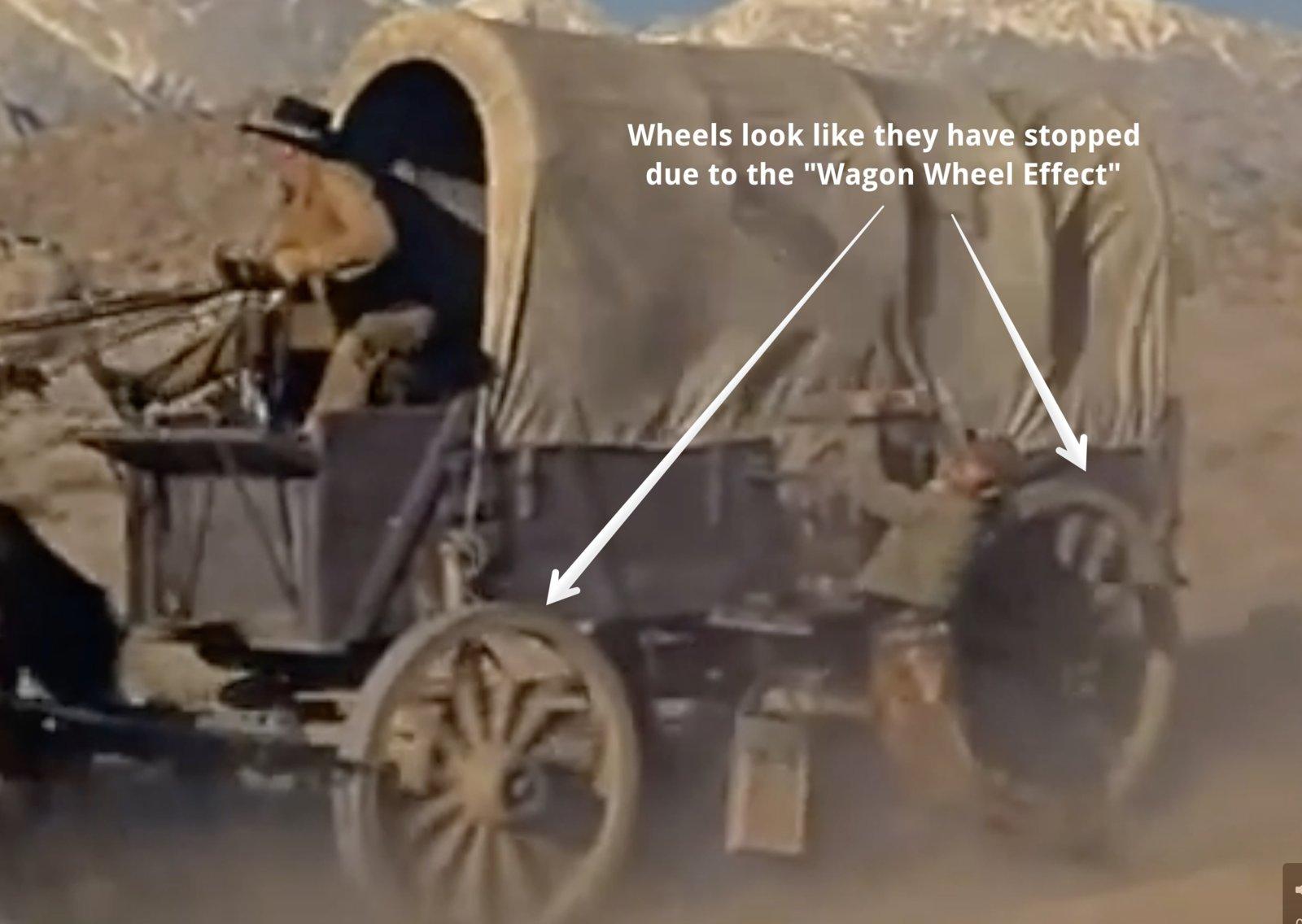 Western wagon naked