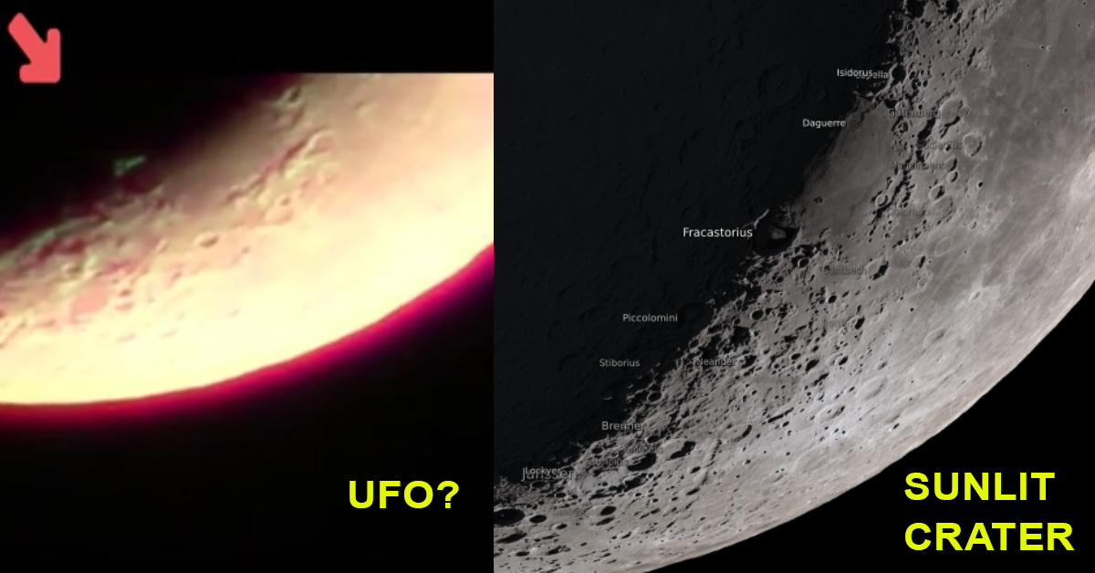 Moon Terminator UFOs Metabunk.