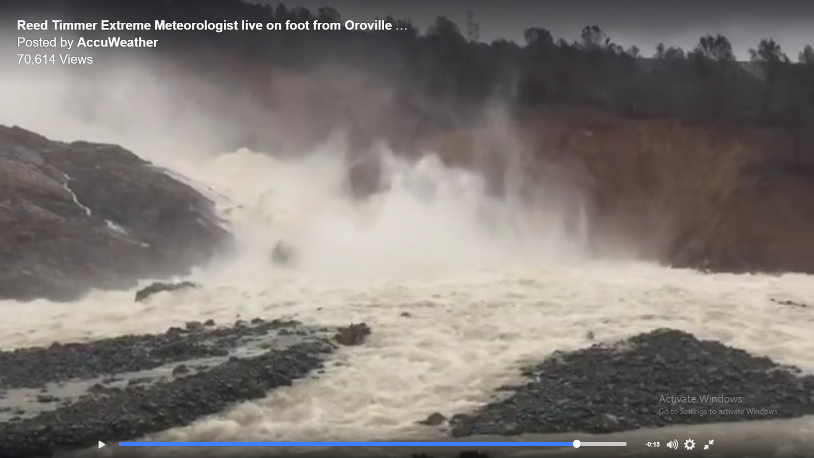 Oroville Dam Main Spillway Waterfall Erosion Watch | Page 4