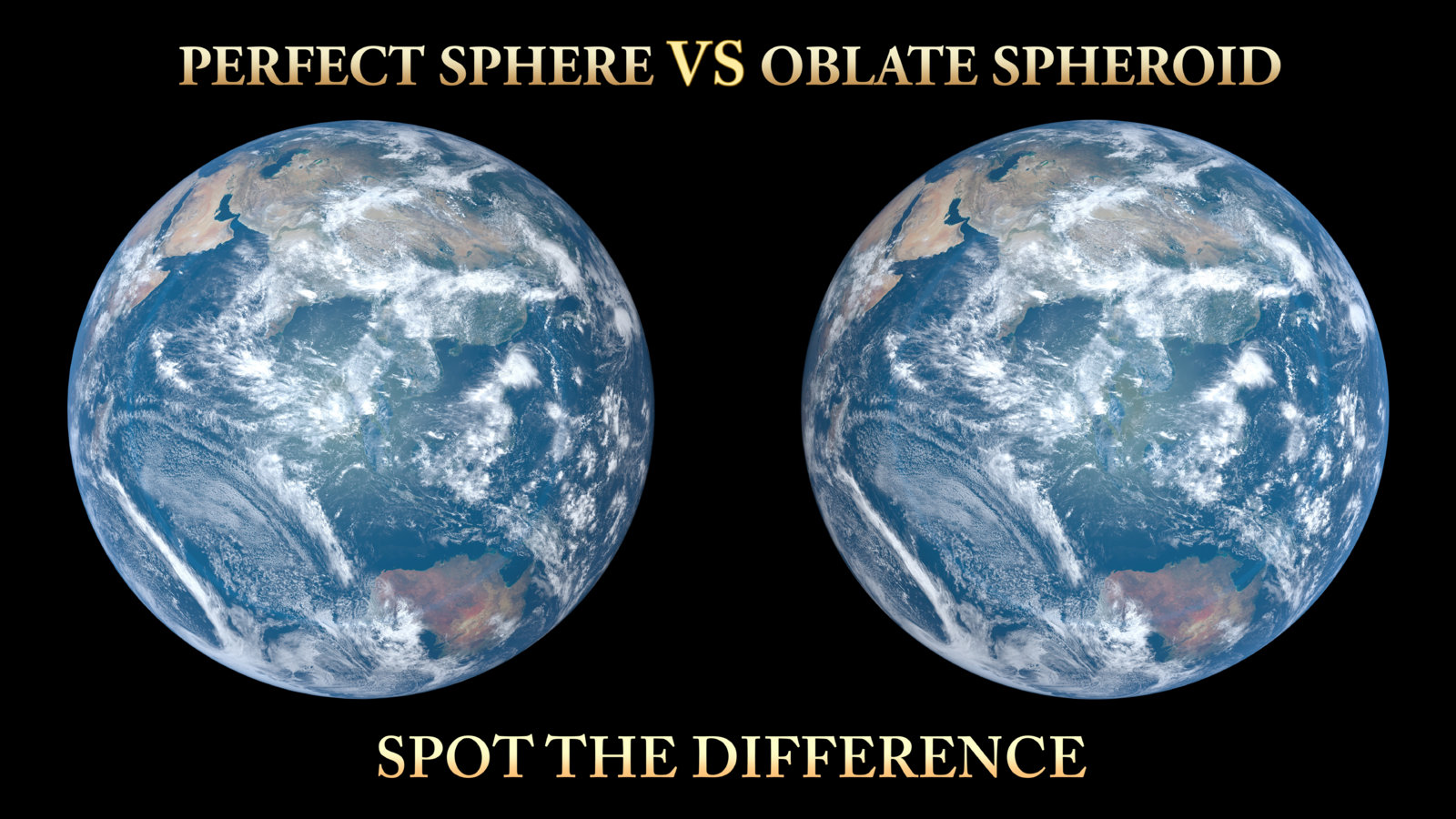 Perfect VS Oblate.