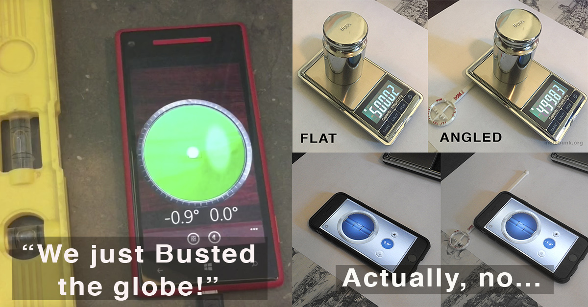 Phone Accelerometers around the world - Metabunk.