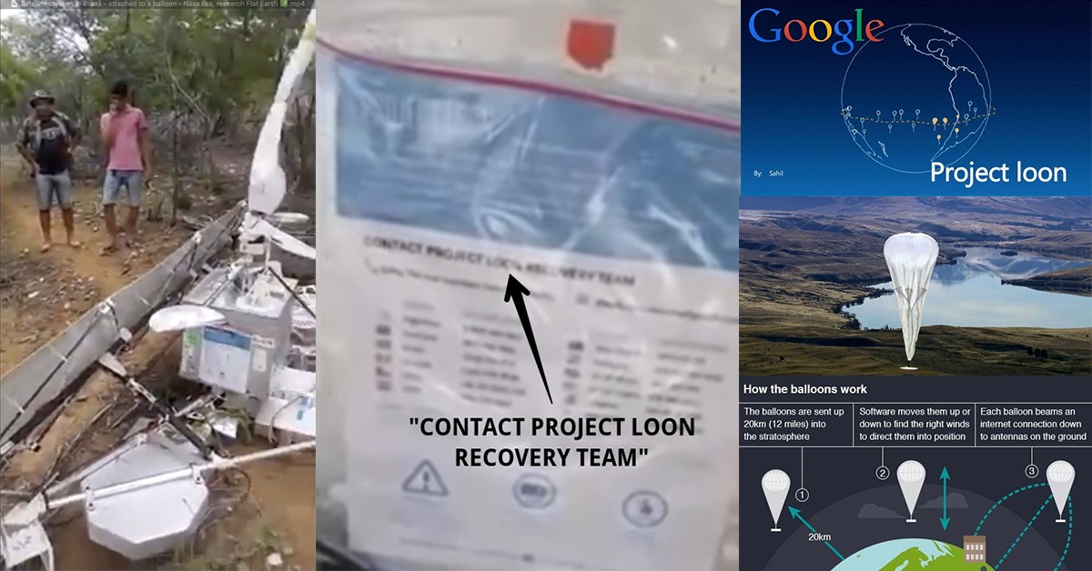 Project Loon Crash in Brazil.