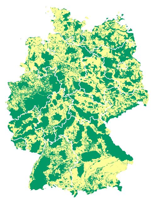 Schutzgebiete Deutschland.