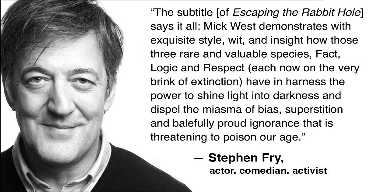 Stephen Fry Facebook.