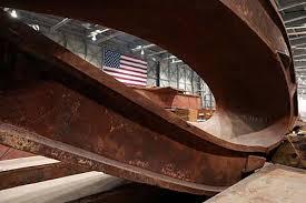 WTC structural steel bending.