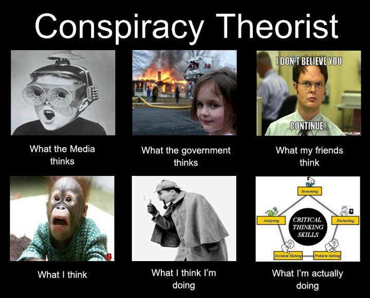 people and conspiracy theories essay