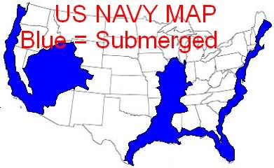 Debunked Leaked US Navy Map New Madrid Submerged US Metabunk - Future map of us