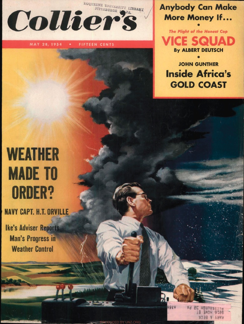 Collier's Magazine - Weather Modification