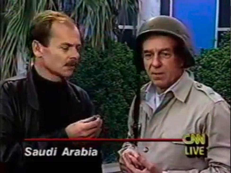 Afbeeldingsresultaat voor fake live broadcast gulf war