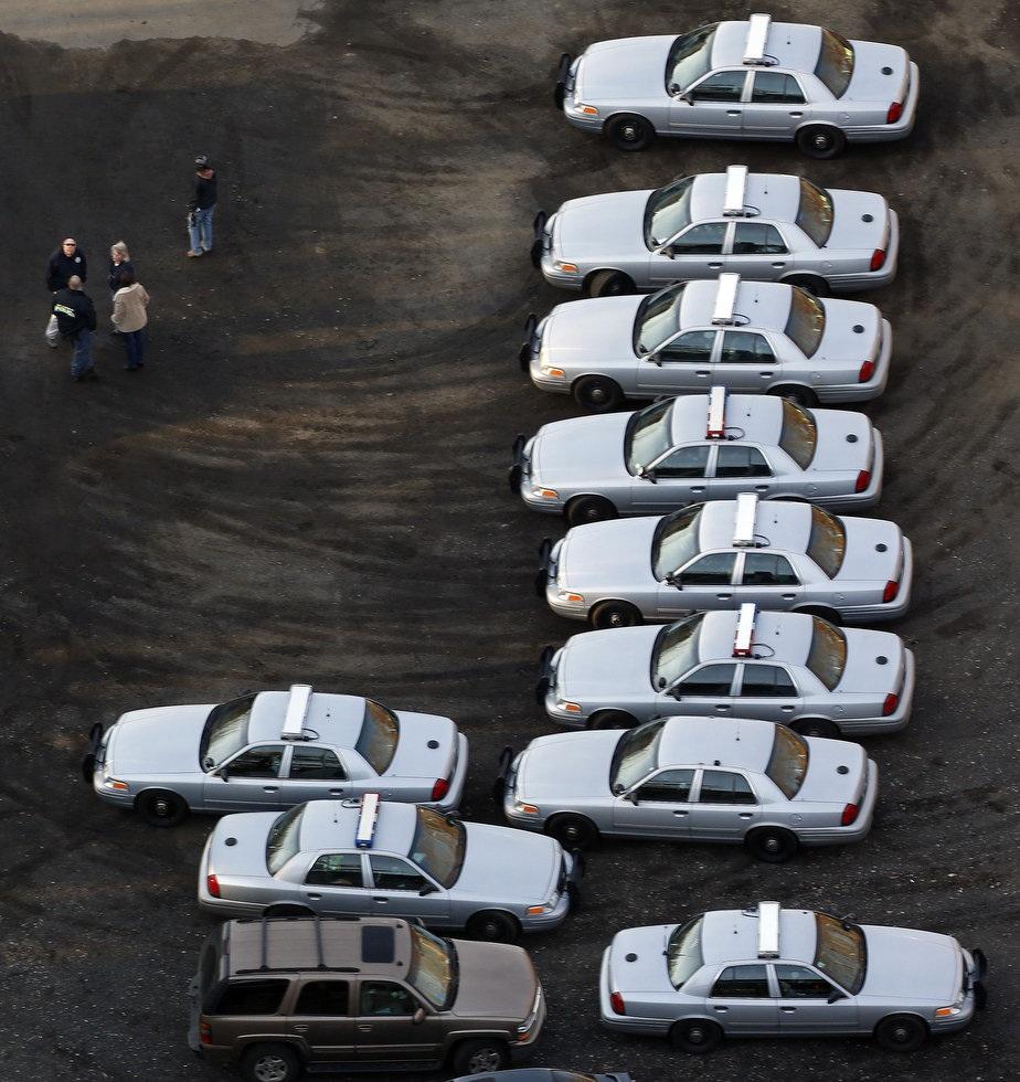 Sandy hook car park
