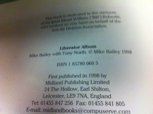 Liberator album published.JPG