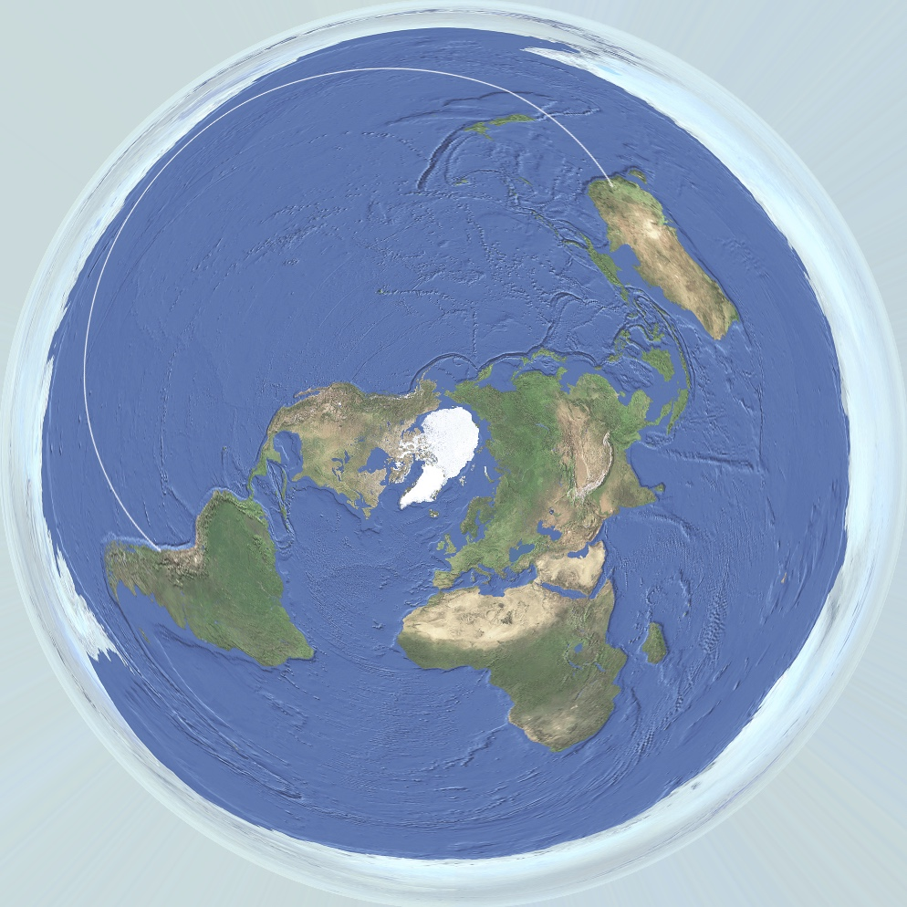 A Flight Over The Antarctic Sea Ice From Chile To Australia QF - Earth map show airplane travell from us to austrialia