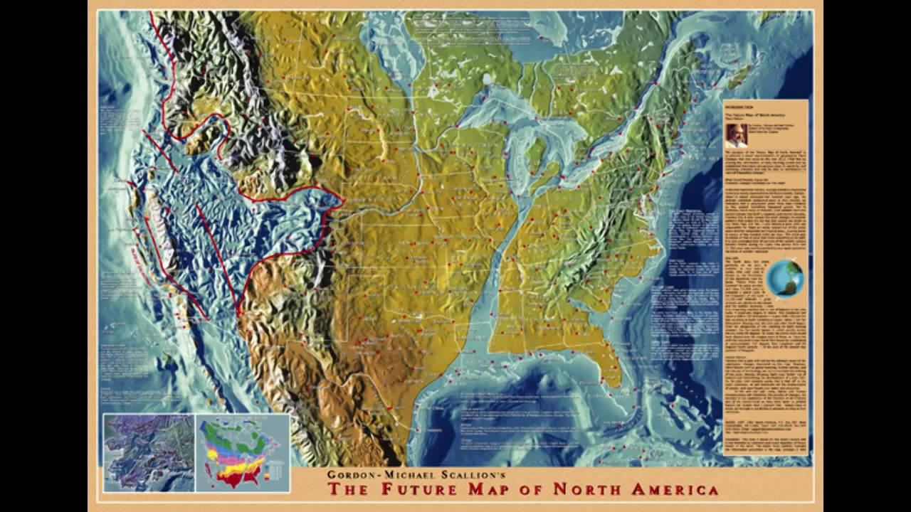 Debunked Leaked US Navy Map New Madrid Submerged US Metabunk - Edgar cayce future us map
