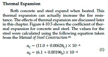 a study on the coefficient of expansion on heating solids These methods are usually applied to solids thermogravimetric analysis is the study of the changes expansion coefficient 2.