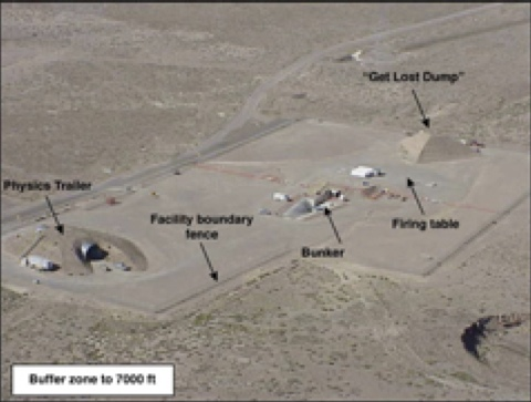 Debunked: Mysterious/Alien Pyramid inside Area 51/NTS/NNSS